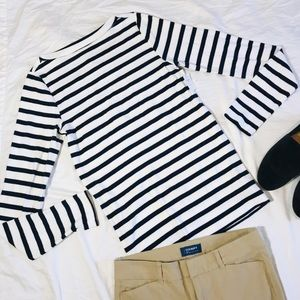 GAP Striped Boatneck Top